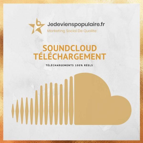 acheter téléchargement Soundcloud