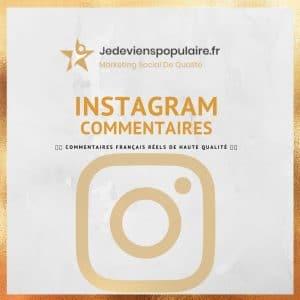 acheter commentaires instagram