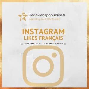 acheter likes instagram français