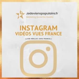 acheter vues instagram