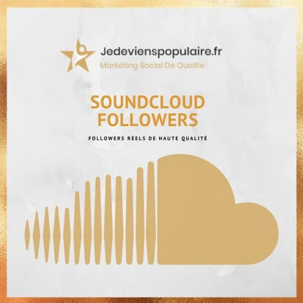 acheter followers Soundcloud