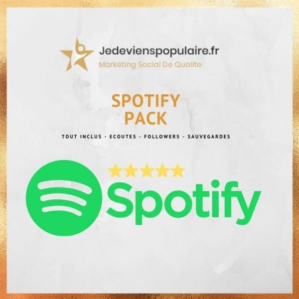 acheter écoutes Spotify