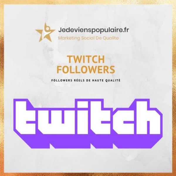 acheter followers twitch