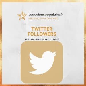 acheter followers twitter