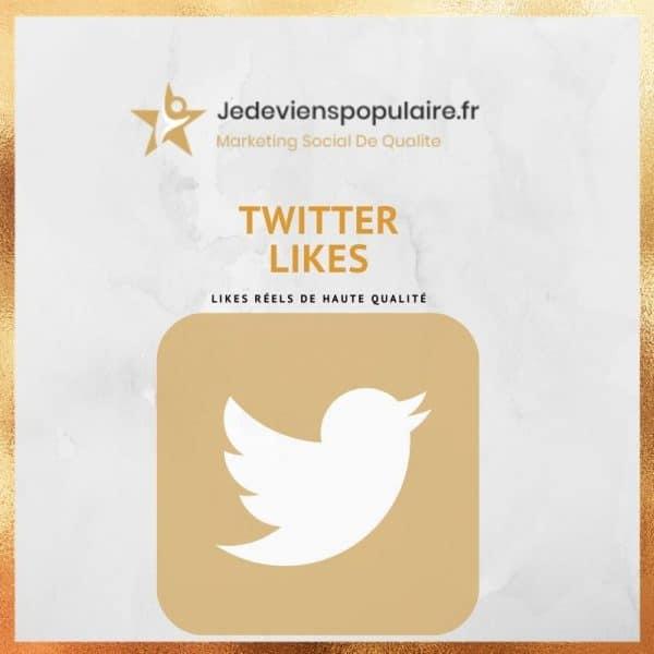 acheter likes twitter