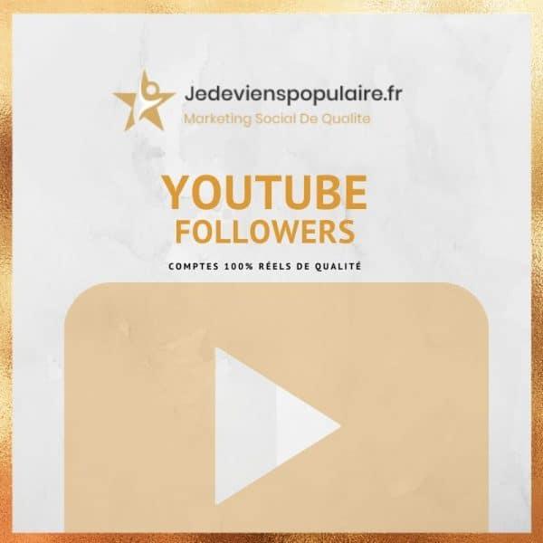 acheter followers YouTube