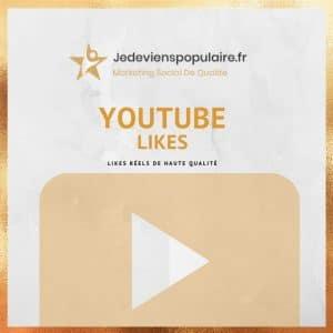 acheter likes YouTube