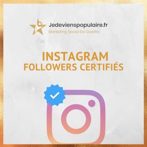 acheter des followers instagram certifiés