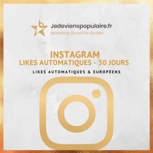 acheter des likes automatiques instagram